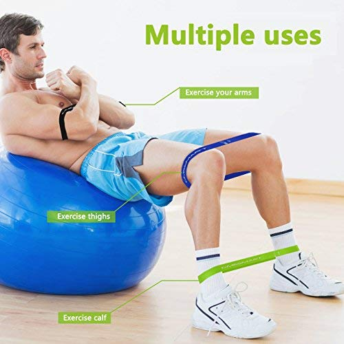 GM5SMART Resistance Bands, Exercise Bands,Exercise Loops