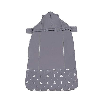 Besteffie - Funda Universal con Capucha para portabebés – Manta Gruesa Resistente al Viento y al