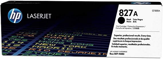 Hp 827a Cf300a Schwarz Original Toner Für Hp Color Laserjet Enterprise Flow M880 Bürobedarf Schreibwaren