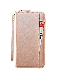 Travel Document Organizer & RFID Passport Wallet Case, Family Passport Holder Id