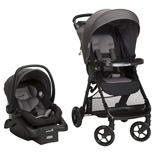 - Safety 1st Smooth Ride Travel System with OnBoard 35 LT Infant Car Seat, Monument 2