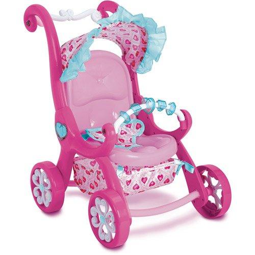Amazon.com : My First Disney Princess Magical Stroller : Baby Doll ...