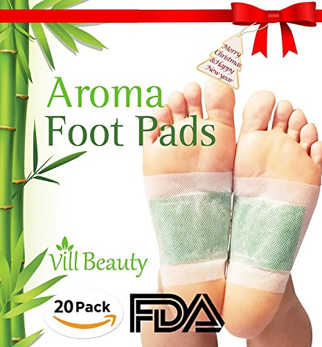 FDA CERTIFIED Upgraded 2 In 1 Foot Pads, Best Nature Foot Pads, Rapid Foot Care and Pain Relief, Higher Efficiency Than Foot Cushions, Sleeve Metatarsal Pads - Best Foot pads for 2018, 20 Packs