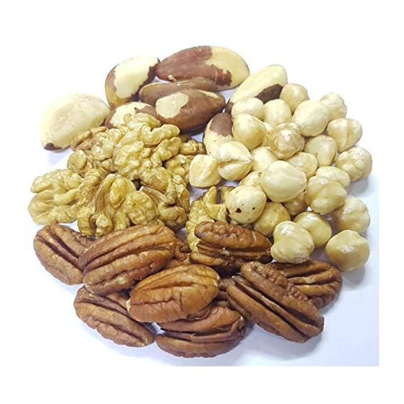Dry Fruit Hub International Trial Mix, 400gms, Healthy Snacks, (Brazil Nuts, Hazel Nuts, Pecan Nuts, Walnuts), Mixed