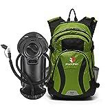 ROCKRAIN WindSeeker Insulation Hydration Cycling Backpack Pack with 2.5L BPA Free Leak Proof Water...
