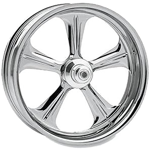 - Performance Machine Wrath Chrome Front Wheel, 18