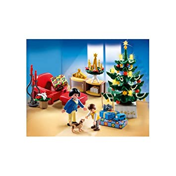 Amazon.com: PLAYMOBIL Christmas Room: Toys & Games