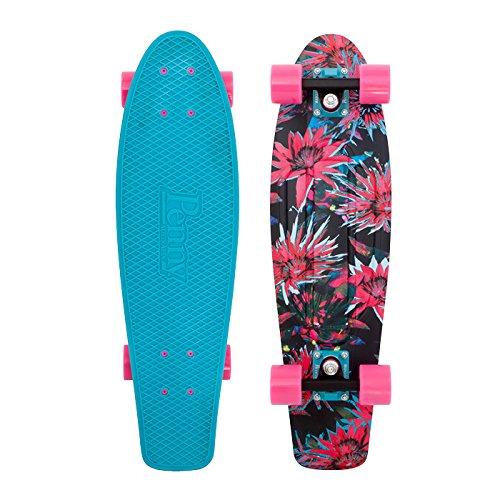 Penny Nickel Graphic Skateboard - Bloom 27
