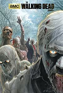 "Limited Edition Alex Ross Autographed ""The Walking Dead"" Poster"