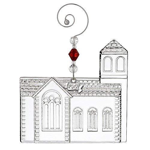 Waterford Dimensional Church Ornament