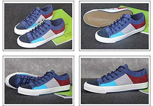 Bleu Qiusa Espadrilles Taille De coloré Durables Respirables Violet 43 Uniques Mode Eu ww08gqrd