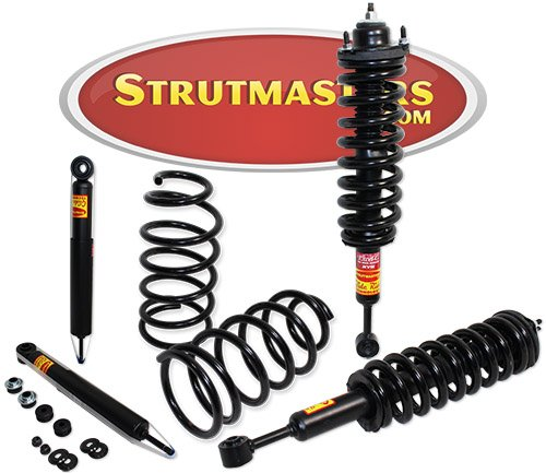 Strutmasters 4 Wheel Air Suspension Conversion Kit for 2003-2011 Toyota 4Runner X-REAS