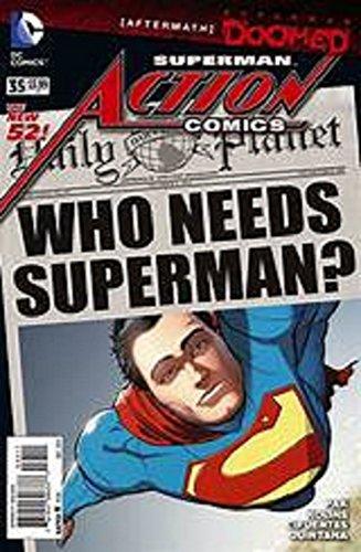 Action Comics #35 (Action Comics 35)