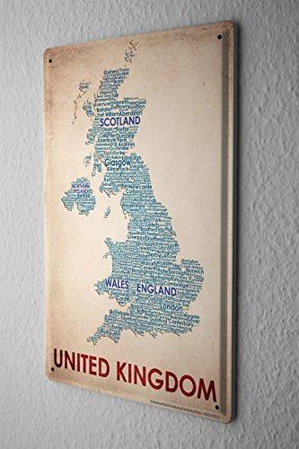 Old Map England Amazoncom