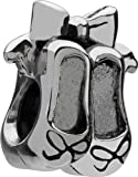 Authentic Chamilia Sterling Silver Charm Ballet GD-5