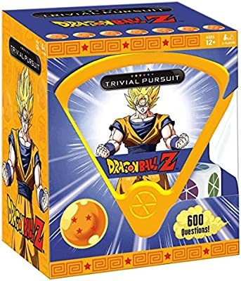 USAopoly Dragon Ball Z Trivial Pursuit Board Trivia Game Juego De Mesa - Ingles: Amazon.es: Juguetes y juegos