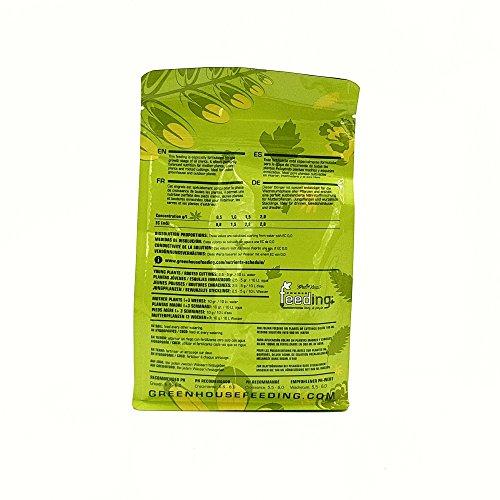 Green House Nutrientes para plantas de cultivo todo en uno, 500 gramos: Amazon.es: Jardín
