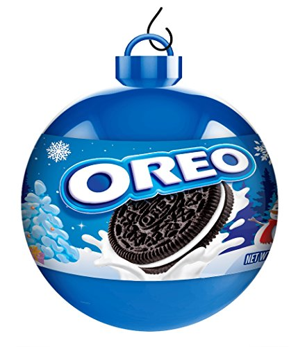 Oreo Chocolate Sandwich Cookies Holiday Ornaments, 0.78 Ounce (Pack of 12)