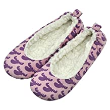 Forfoot Women's Warm Winter Soft-Sole Loafer Moccasin Slipper for Indoor House Bedroom