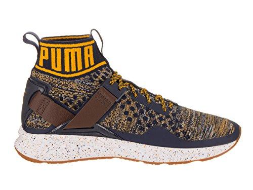 Zapatillas De Deporte Puma Hombres Ignite Evoknit Cross-trainer / Yellow-chestnut