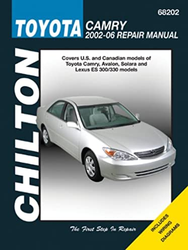 toyota camry 2002 2006 chilton s total car care chilton rh amazon com 2002 Toyota Camry Starter Problems 2002 Toyota Camry Starter Problems