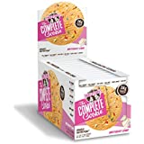 Lenny & Larry's The Complete Cookie, Birthday Cake, Soft Baked, 16g Plant Protein, Vegan, 4-Ounce Cookies (Pack of 12)