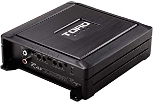 TORO TECH - R4F, 2500 Watts MAX - 1250 Watts RMS 1Ω Stable Full Range Monoblock Car Amplifier, Sound Quality Class D Design, Built-in Auto Sensing Turn-On, Subwoofer Amplifier