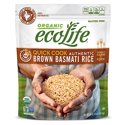 quick cook organic brown rice - 1