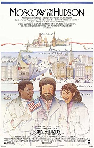Moscow on the Hudson Poster Movie 11x17 Robin Williams Maria Conchita Alonso Cleavant Derricks