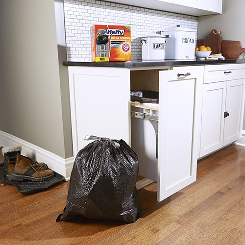 hefty ultra strong trash bags fits all simplehuman mypointsaver. Black Bedroom Furniture Sets. Home Design Ideas