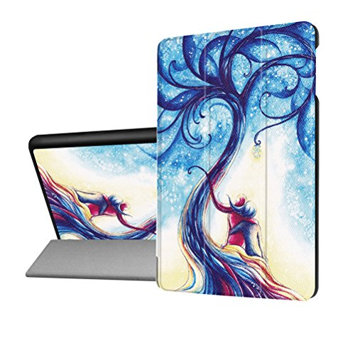 Smart Case For All New Amazon Kindle Fire Hd 8 Tablet  7Th Generation  2017 Release 6Th Gen 2016  Folding Standing Leather Protective Cover For Fire Hd8 With Auto Wake Sleep  Sweetheart