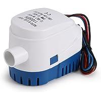 HITECHLIFE Bomba de agua automática de achique 12V 3A con interruptor de flotador incorporado