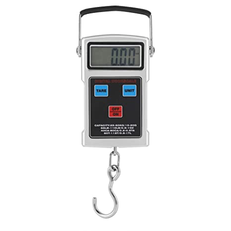 Fdit Balanza Pesa Maleta Báscula Digital para Equipaje 110 lb/50kg Pantalla LCD valijas Digital