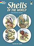 img - for Shells of the World Coloring Book (Dover Nature Coloring Book) by Lucia deLeiris (March 1, 1983) Paperback book / textbook / text book