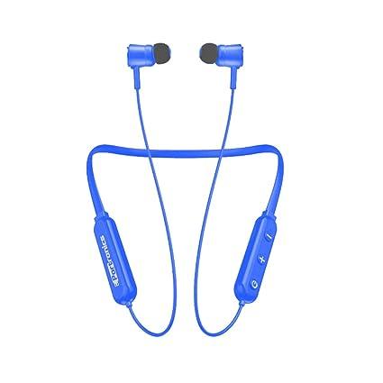Portronics Harmonics 208 POR-932 Bluetooth Stereo Wireless Headset (Blue)