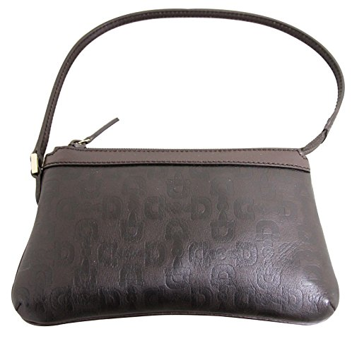 Gucci Brown Horsebit Leather Bag Pouch Clutch Evening Bag 272381