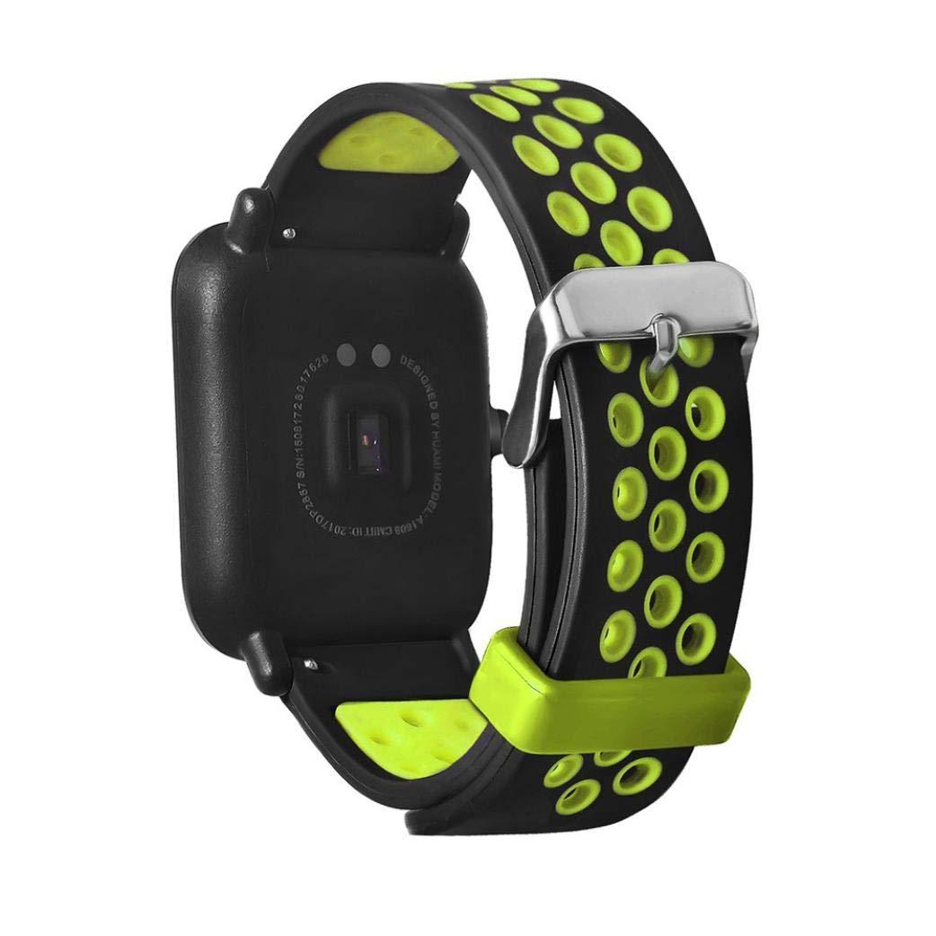 Correas AMAZFIT Reloj Inteligente,☀️Modaworld Pulsera de muñeca Inteligente para AMAZFIT Reloj Deportivo Inteligente Correas de Reloj Pulseras de Repuesto ...