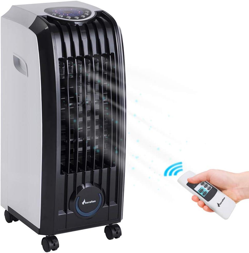 Bakaji 2832115 - Refrigerador ventilador humidificador de aire con ...