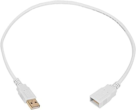 USB-A Male to USB-A Female 2.0 Cable 10 Feet 2 pcs