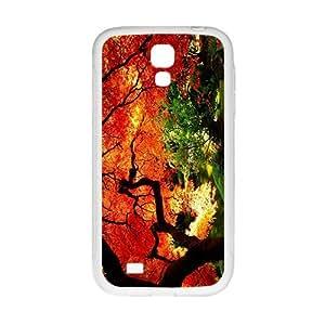 WAGT Charming Orange Red Tree Custom Protective Hard Phone Cae For Samsung Galaxy S4