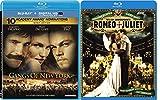 William Shakespeare's Romeo + Juliet & Gangs of New York (Blu-ray) Leonardo DiCaprio set