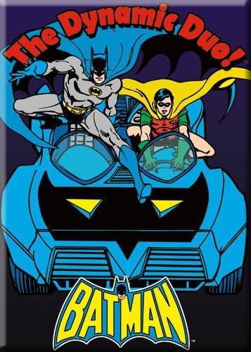 DC Comics Batman Robin The Dynamic Duo Magnet 26165DC