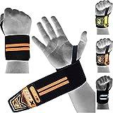 Kyпить RDX Weight Lifting Wrist Wraps Gym Straps Crossfit Bands Bodybuilding Power Training Workout Exercise на Amazon.com