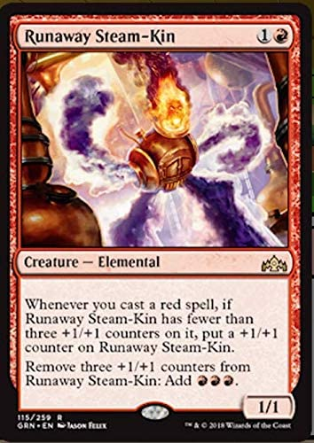 Magic The Gathering - Runaway Steam-Kin (115/259) - Guilds of Ravnica