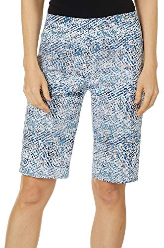 Used, Zac & Rachel Womens Abstract Millennium Bermuda Shorts for sale  Delivered anywhere in USA