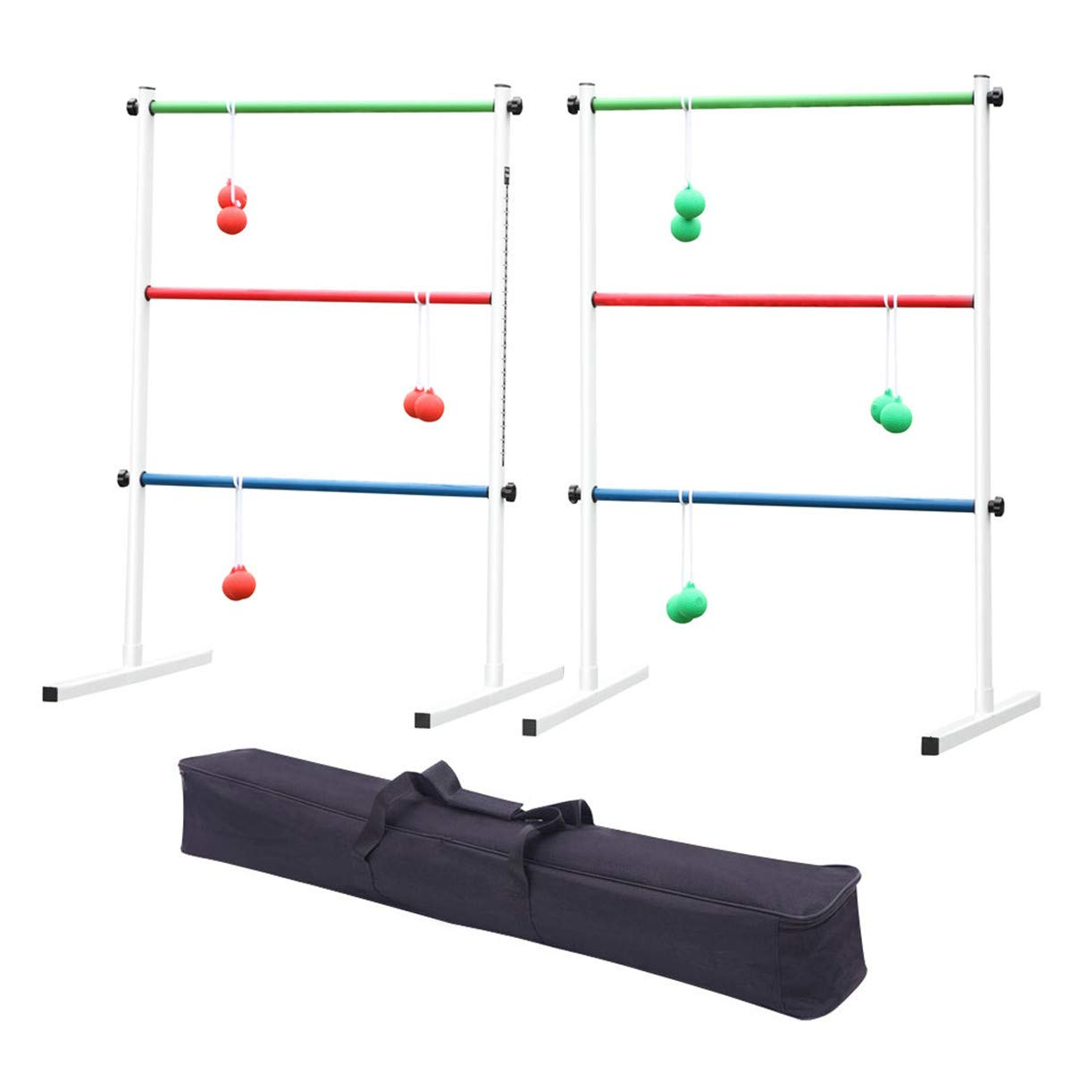 LeiAn Ladder Toss Outdoor Lawn Game Set with Carrying Case for Children and Adults Fun Game for Yard by LeiAn