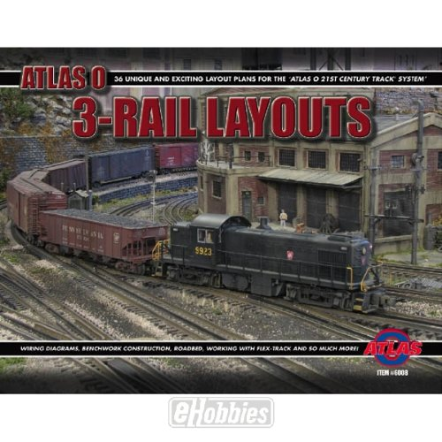 Atlas O Scale 3-Rail Layout Book 2nd Edition on