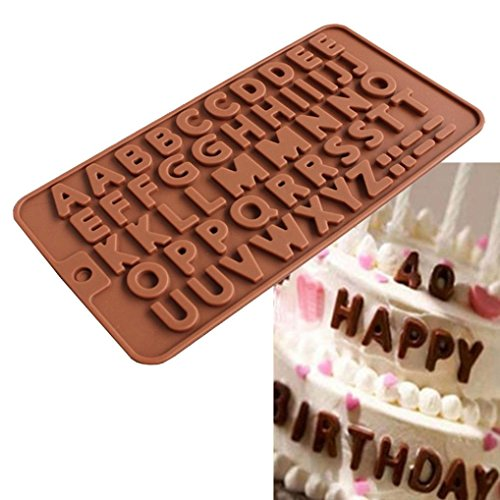 DEESEE(TM) Silicone Donut Muffin Chocolate Cake Candy Cookie Cupcake Baking Mold Mould Pan (B(21 x 11.5cm))