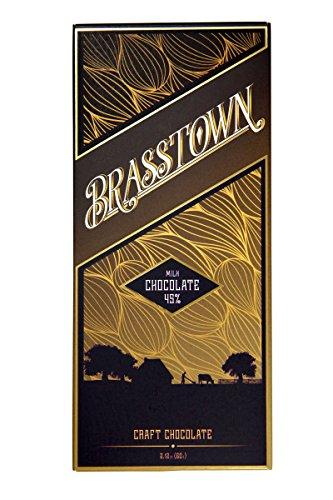 Brasstown Chocolate, Milk 45%, 2.25 Ounce