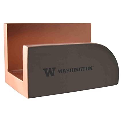 Amazoncom University Of Washington Concrete Business Card Holder
